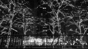 outdoor lights in New York